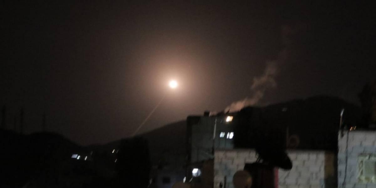 EU, Reino Unido y Francia atacan centros de armas químicas en Siria