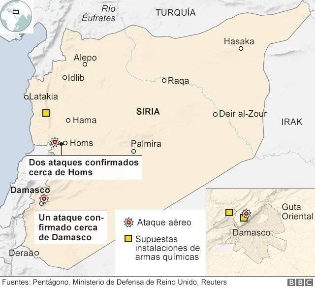 Venezuela condenó bombardeo de EEUU contra Siria