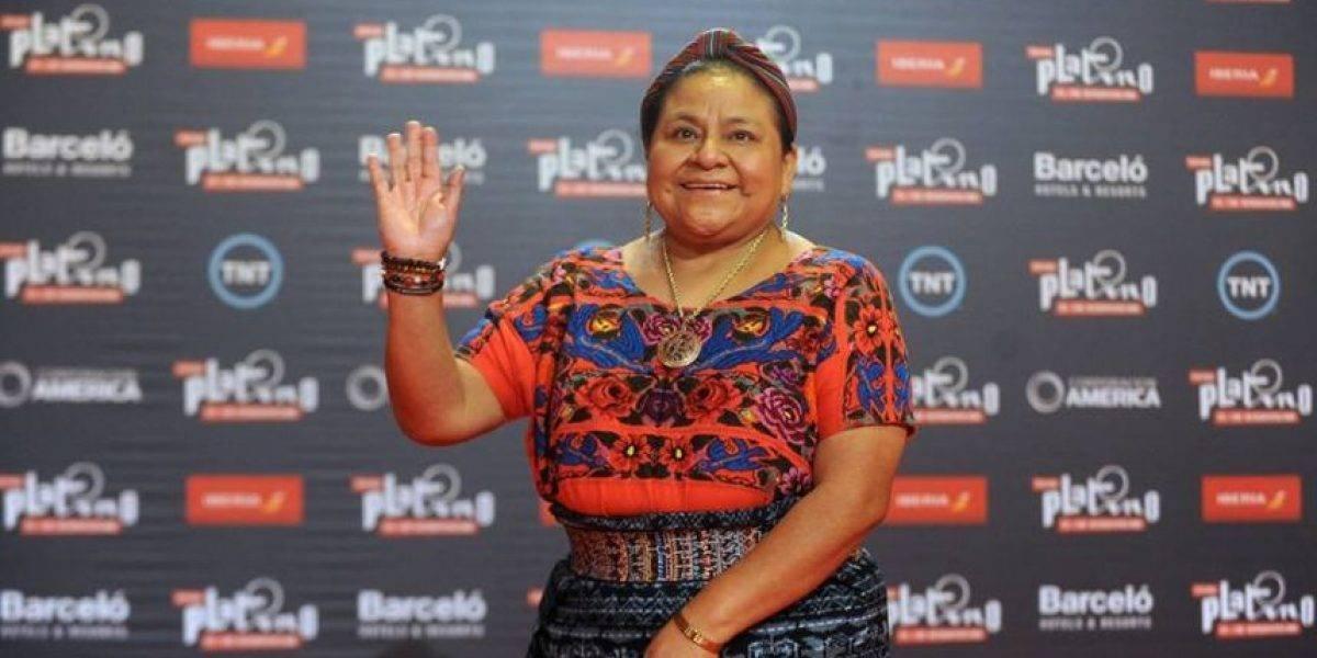 Rigoberta Menchú hace un llamado al mundo para condenar ataque a Siria