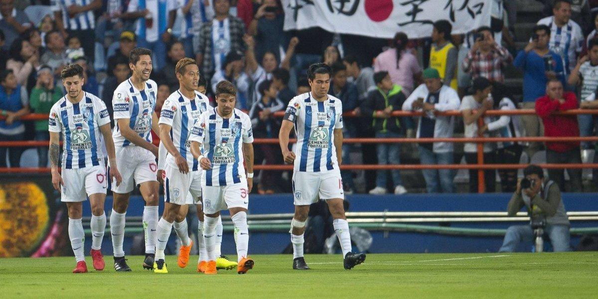 Pachuca se mete a zona de liguilla tras ganarle a Santos