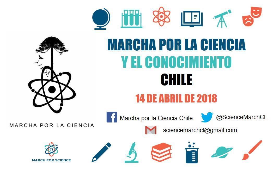 Chile: Hoy se realiza la Marcha Por La Ciencia y El Conocimiento