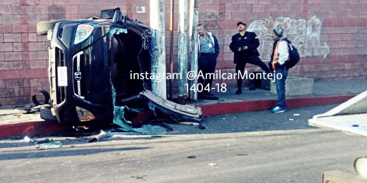 Seis heridos y un muerto por accidentes de tránsito este sábado