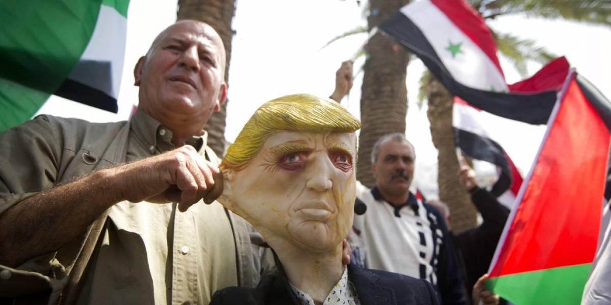 Protestas en Siria y el mundo contra bombardeos de EU y sus aliados