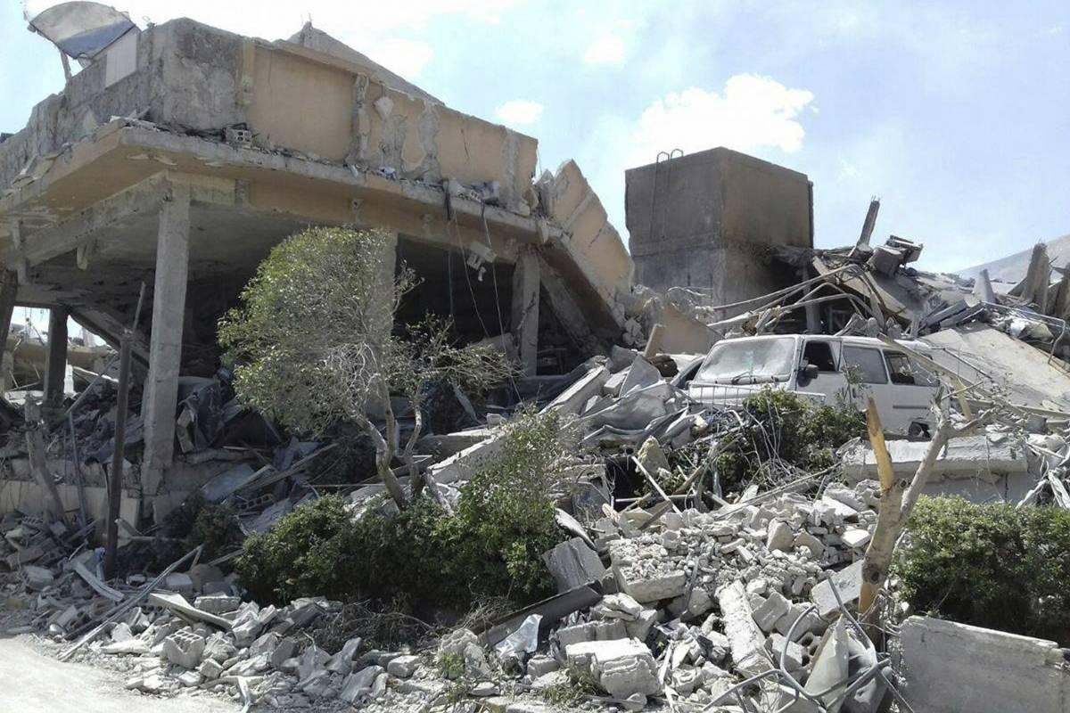 El ejército de Rusia dijo que las unidades de defensa aérea sirias derribaron 71 de 103 misiles de crucero lanzados por Estados Unidos y sus aliados. Foto: AP