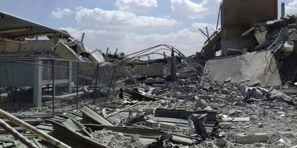 Fotos: Así quedaron las zonas bombardeadas por EU, Francia y Reino Unido en Siria