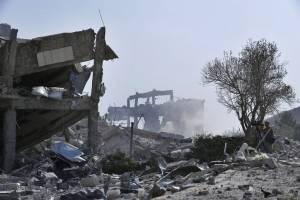 El ejército de Rusia dijo que las unidades de defensa aérea sirias derribaron 71 de 103 misiles de crucero lanzados por Estados Unidos y sus aliados.