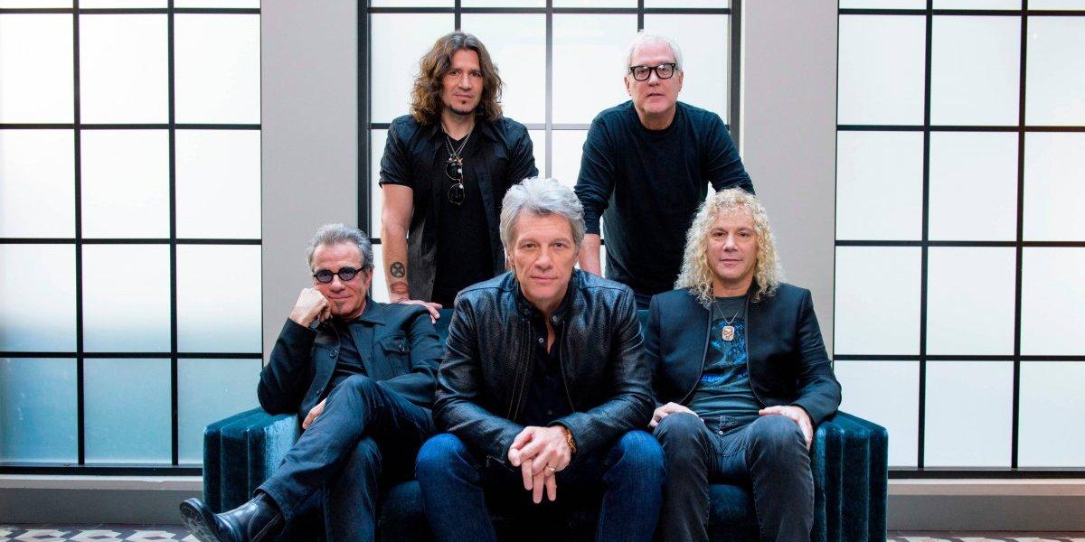 """Banda """"Bon Jovi"""" ingresa al Salón de la Fama del Rock"""
