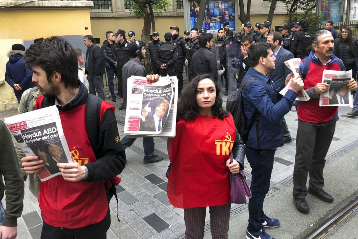 Estambul, Turquía Foto: AP