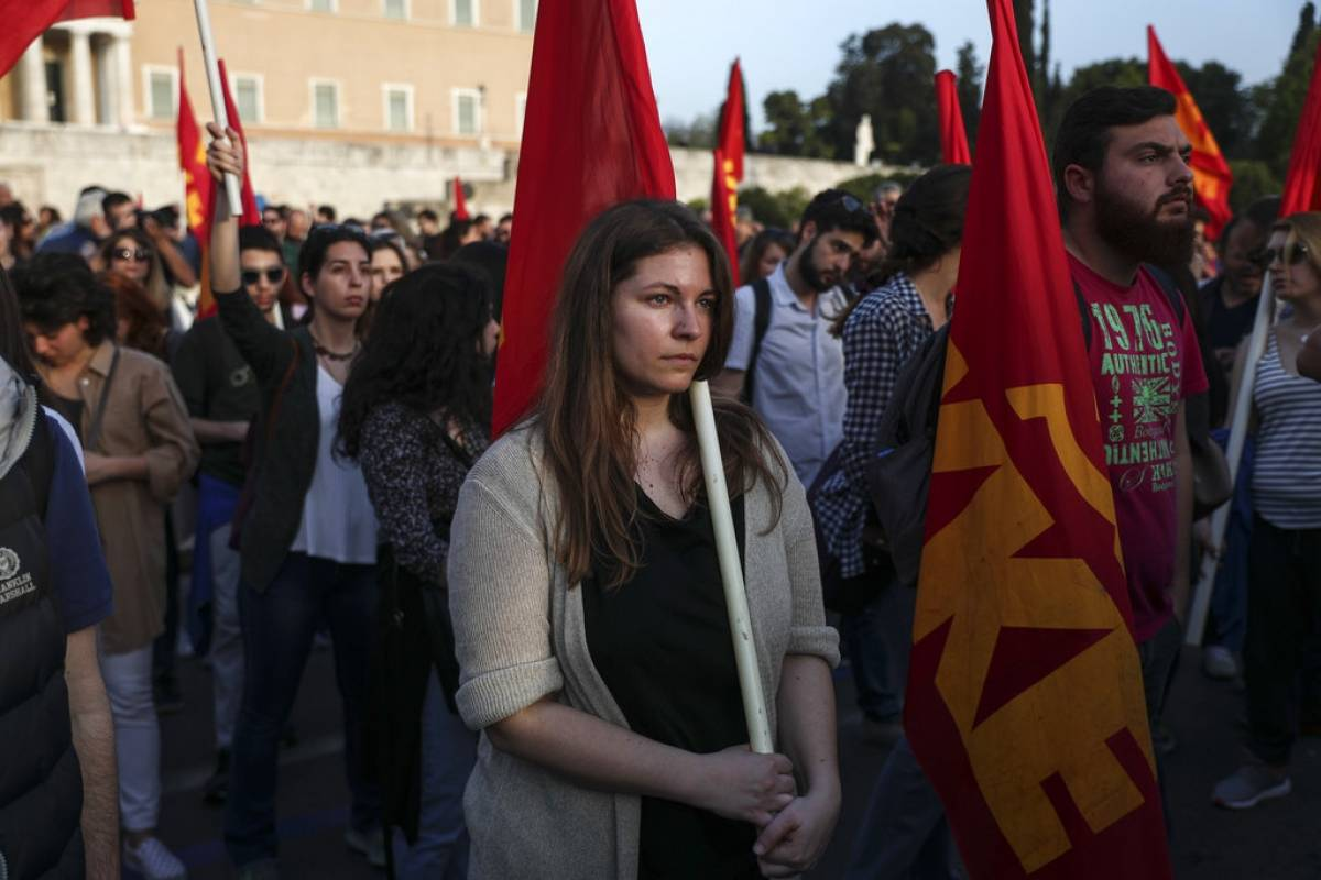 Athenas, Grecia Foto: AP