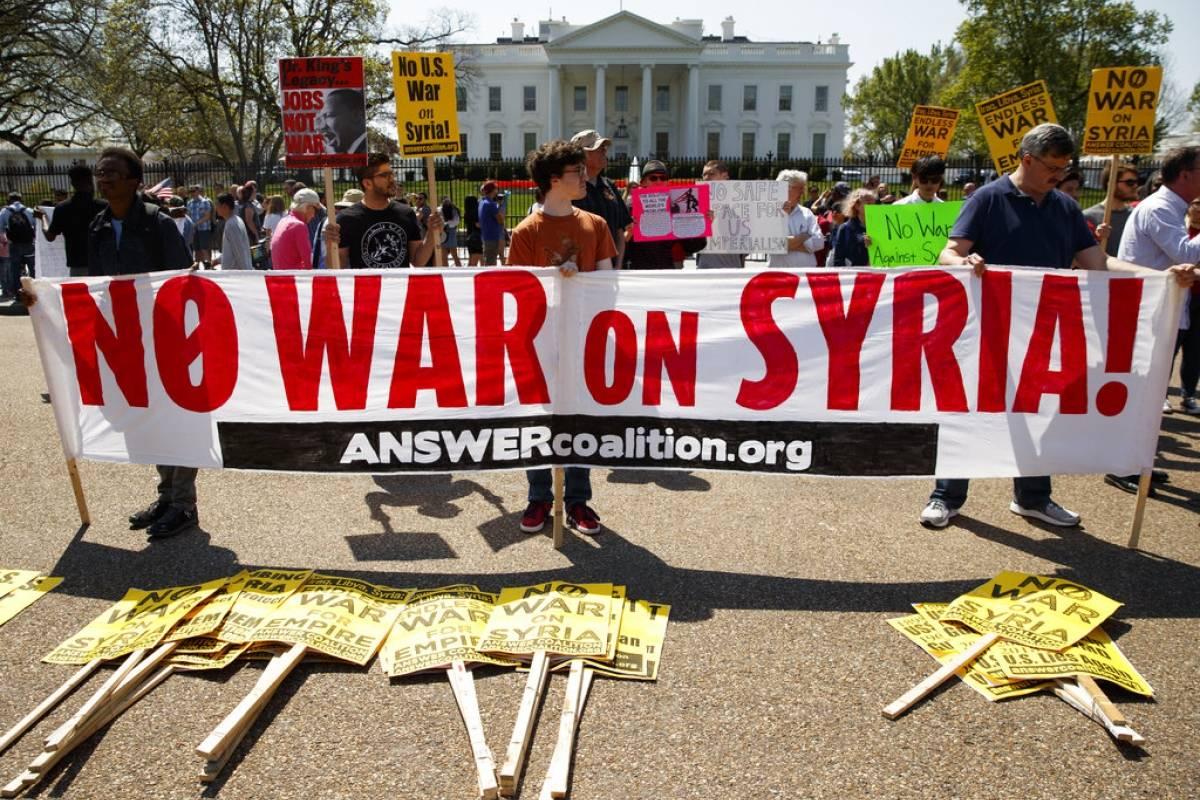 En la Casa Blanca, Washington D.C; Estados Unidos Foto: AP