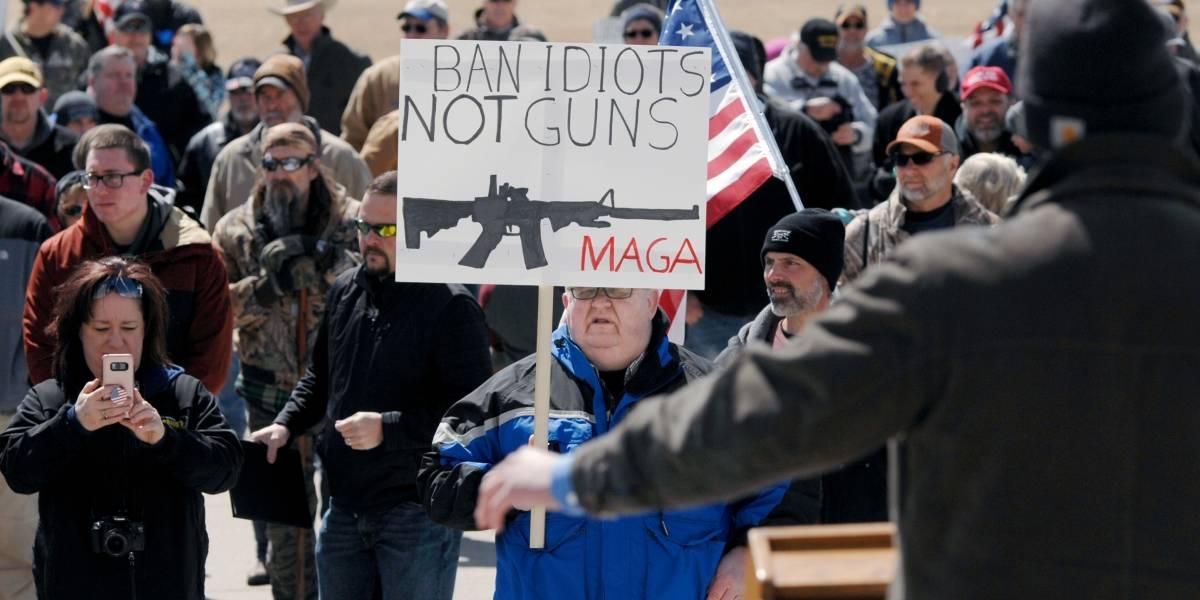 Protestan contra endurecimiento de leyes sobre armas en EE.UU.