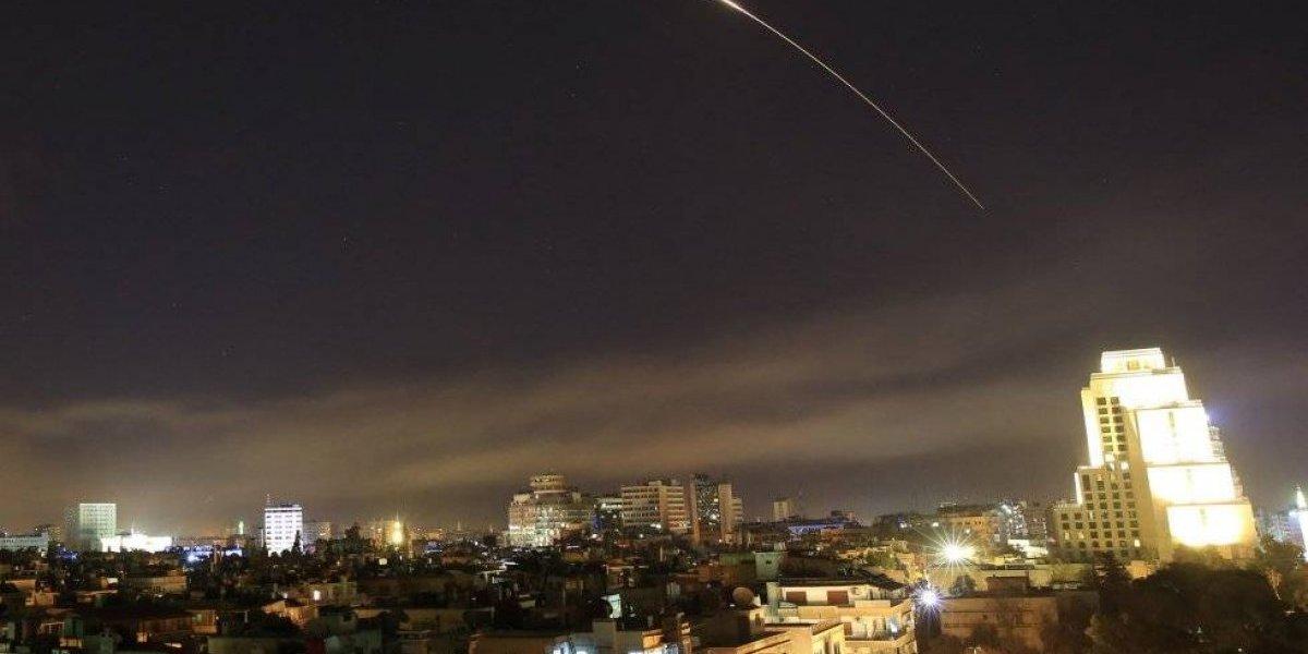 Videos muestran cómo fue el bombardeo de Estados Unidos a Siria