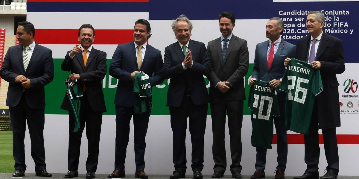 Así agradeció México a Conmebol por apoyar candidatura para Mundial 2026