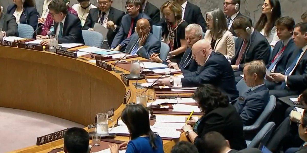 ONU rechaza resolución de Rusia para condenar ataques contra Siria