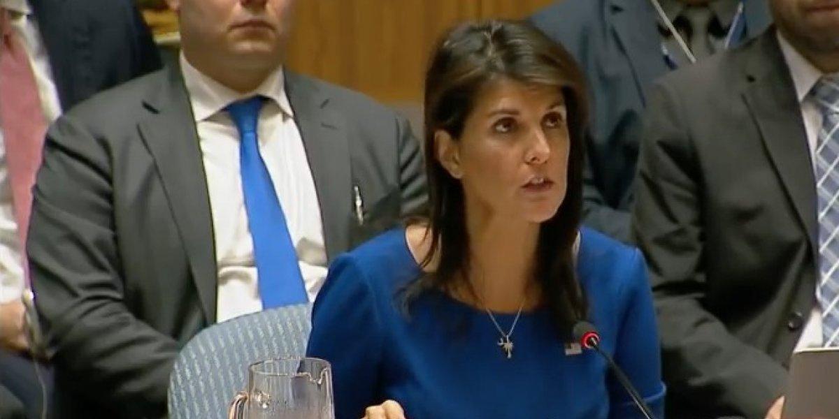 Se realiza reunión de emergencia de la ONU tras el ataque en Siria