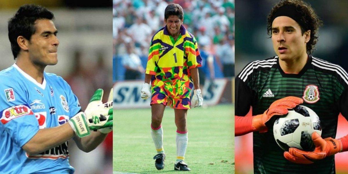 Los mejores porteros en la historia del futbol mexicano