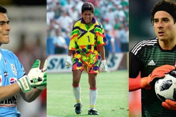 6eb2dd057 Los mejores porteros en la historia del futbol mexicano