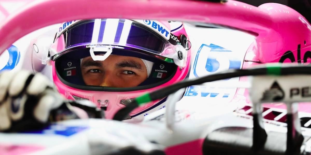 'Checo' Pérez se sube al podio en el GP de Azerbaiyán