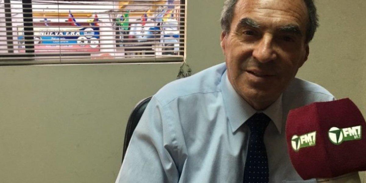 Fue un mal chiste: gobernador de Antofagasta hace insólita confidencia y debe renunciar al cargo