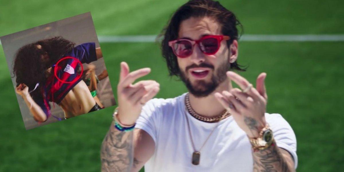 El grave error del videoclip de la canción del Mundial interpretada por Maluma