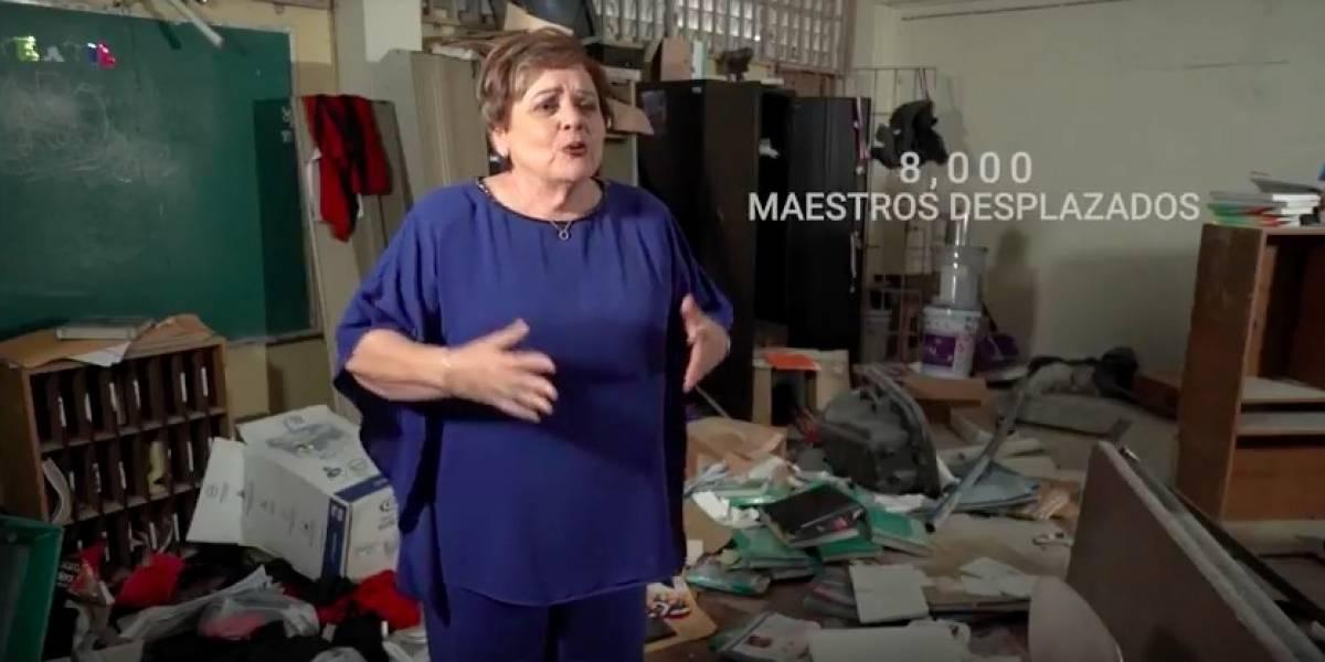 Aida Díaz pide a maestros que no paguen ausencias que les cobra DE