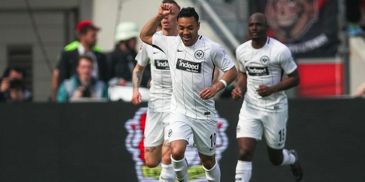 Casi un año después, Marco Fabián vuelve a marcar en Bundesliga