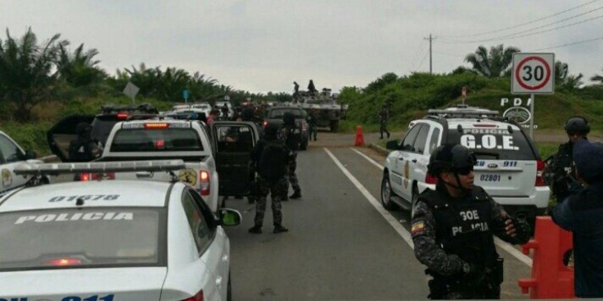 Se suman 32 detenidos en el operativo militar realizado en Mataje