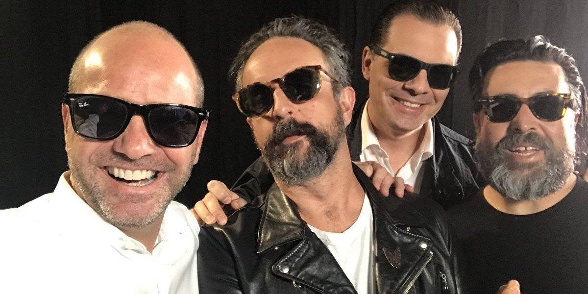 VIDEO: ¡Rockstars! Martinoli y García se unen a la banda de Molotov