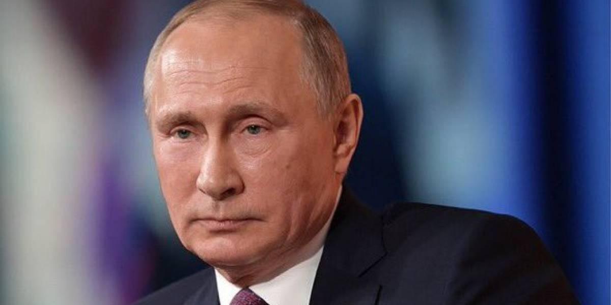 """Putin califica como """"acto de agresión"""" bombardeo militar a Siria"""