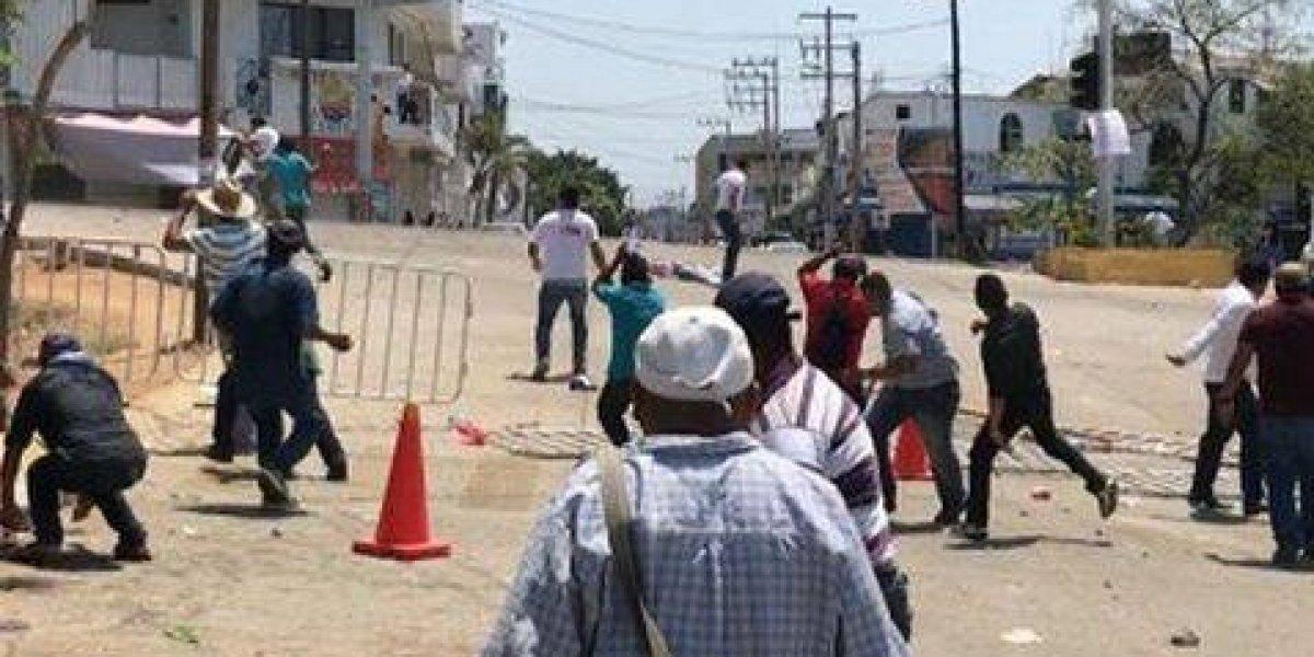 Meade condena agresiónde CNTE contra simpatizantes en Oaxaca
