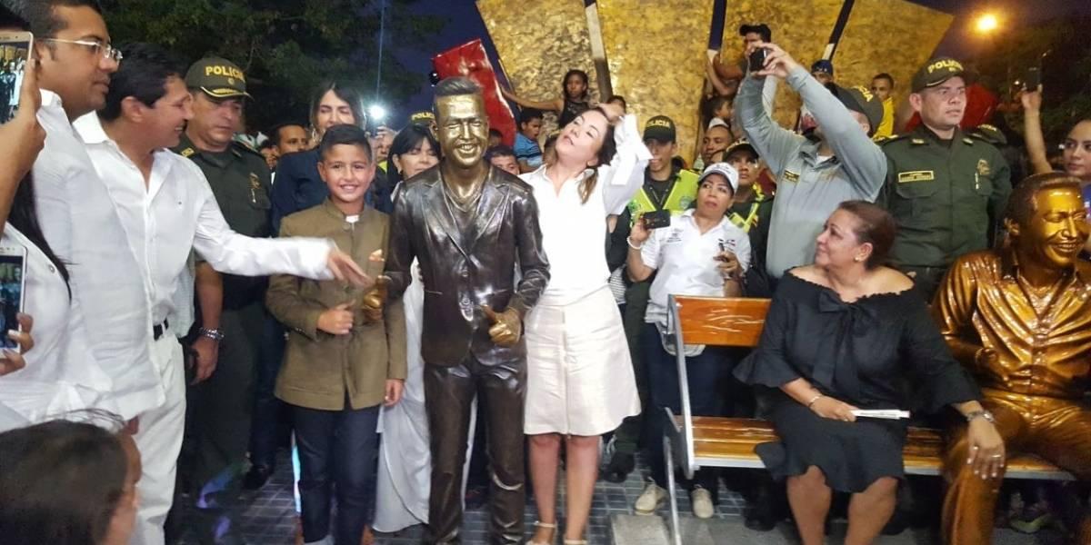 La escultura con la que se homenajea a Martín Elías a un año de su muerte