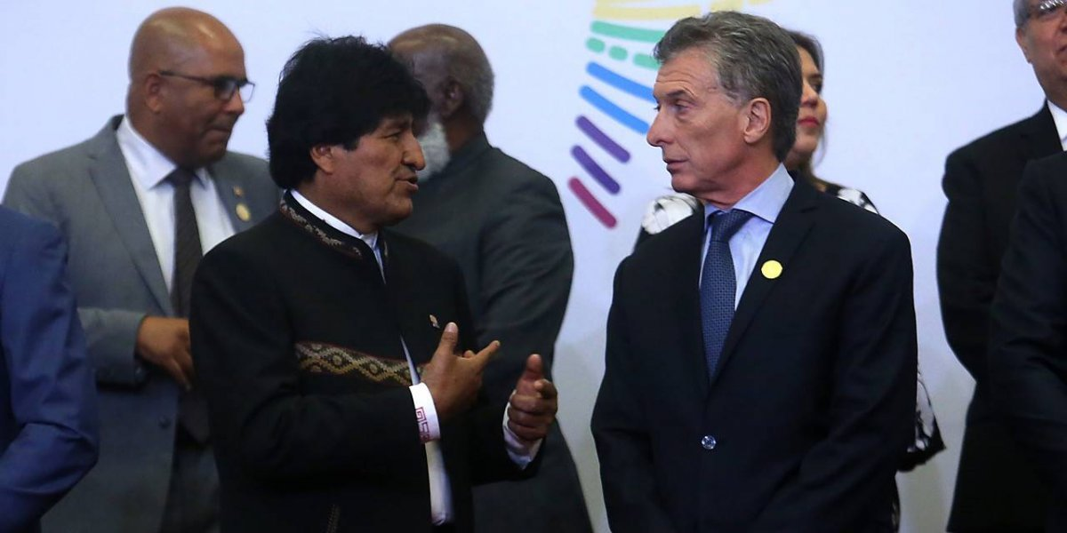 Evo lo hizo otra vez: pidió acceso al mar y defendió a Maduro en la Cumbre de Las Américas