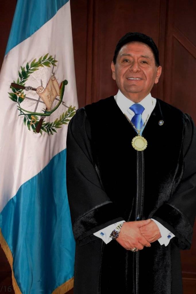 José Francisco de Mata Vela, magistrado de la CC. Corte de Constitucionalidad