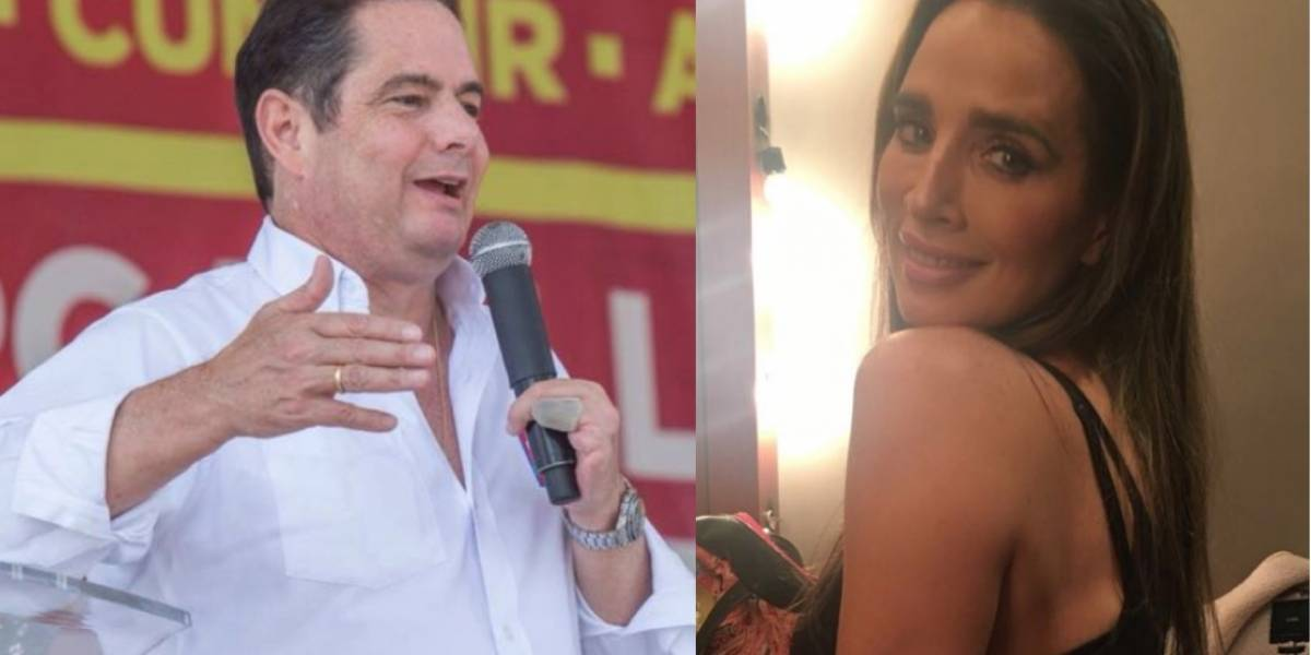 Video: Luly Bossa defiende a Germán Vargas Lleras por el coscorrón a su escolta