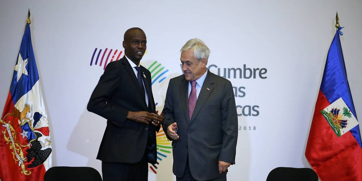 Piñera reveló cómo recibió el presidente de Haití la noticia de la exigencia de visas para migrantes