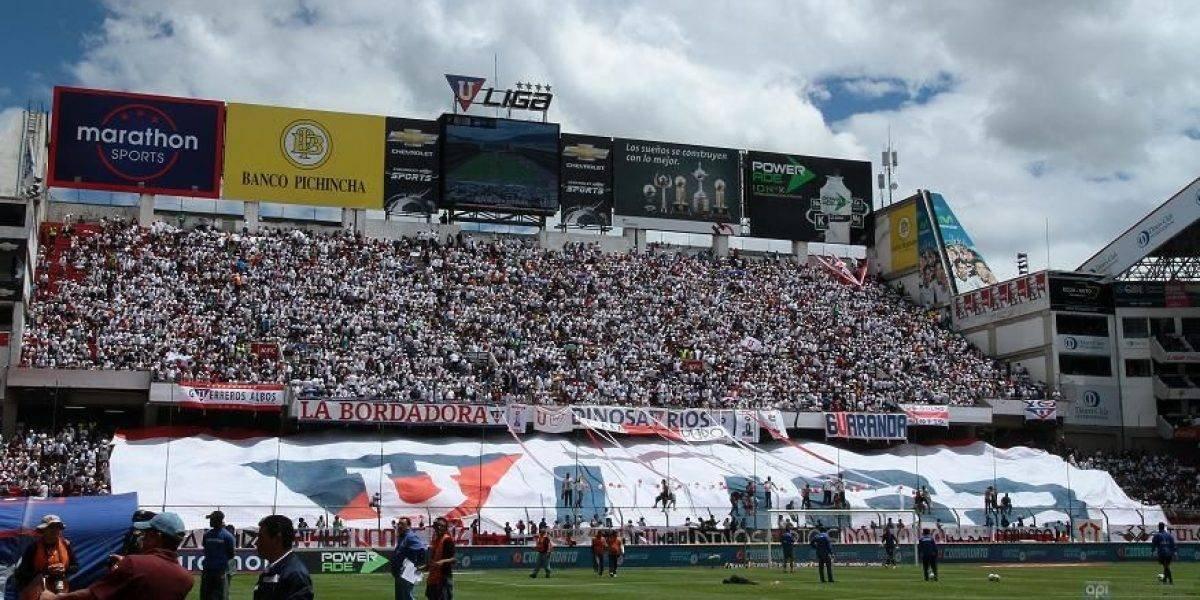 FOTO) LigaPro confirmó la sanción para Liga de Quito y su