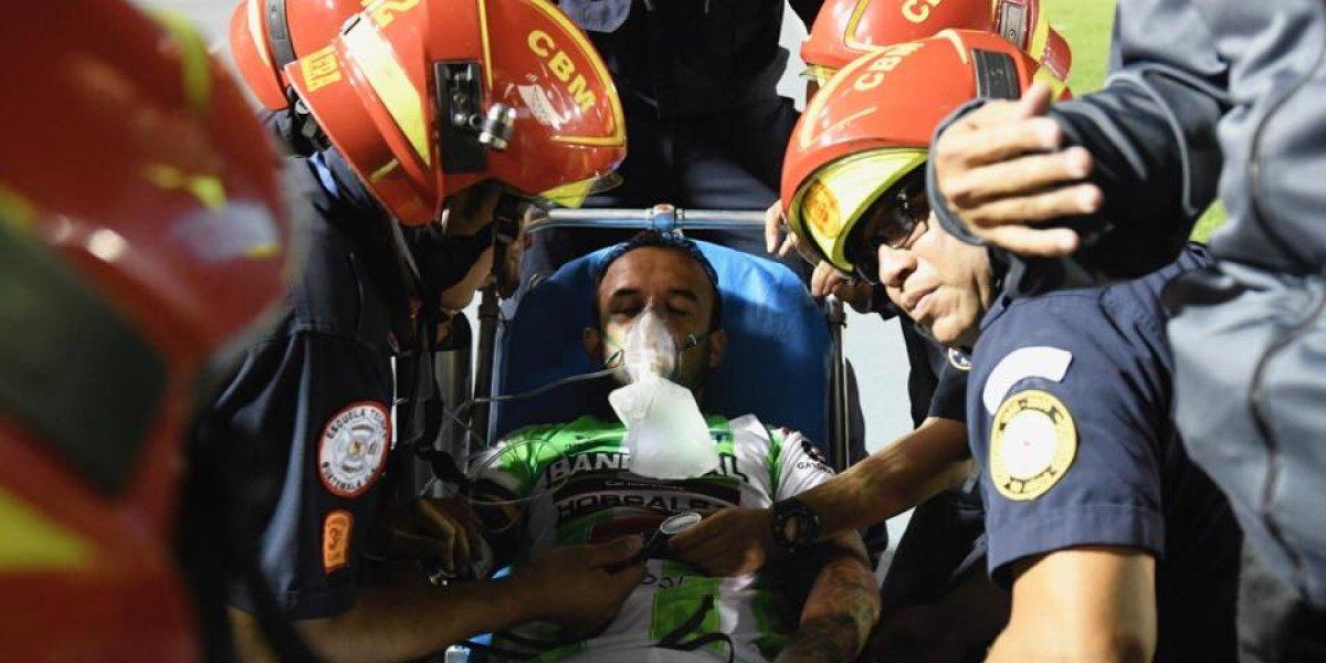 """""""El Moyo"""" Contreras sigue hospitalizado, médico revela detalles"""
