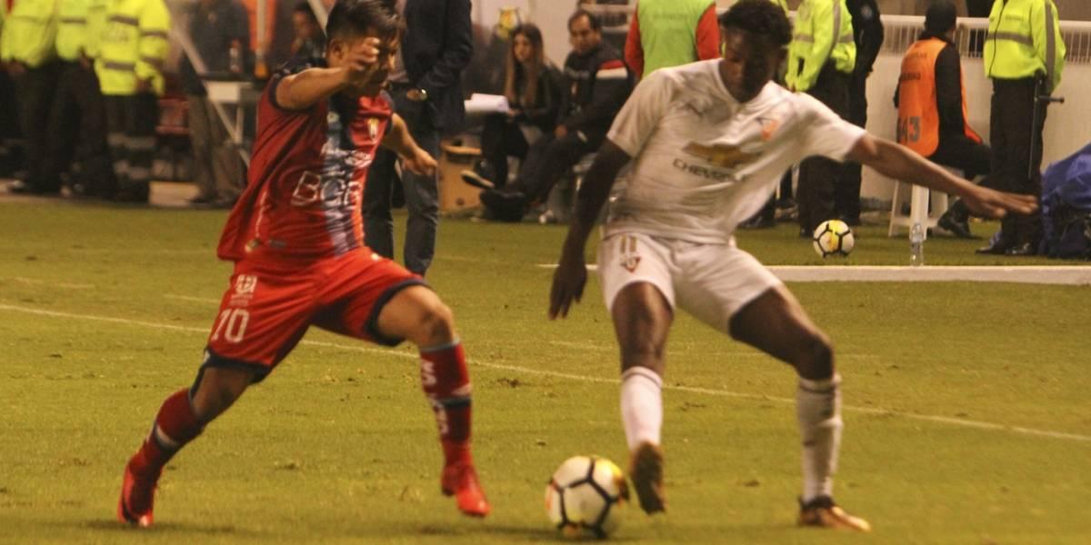 Liga de Quito ganó 1 - 0 a El Nacional