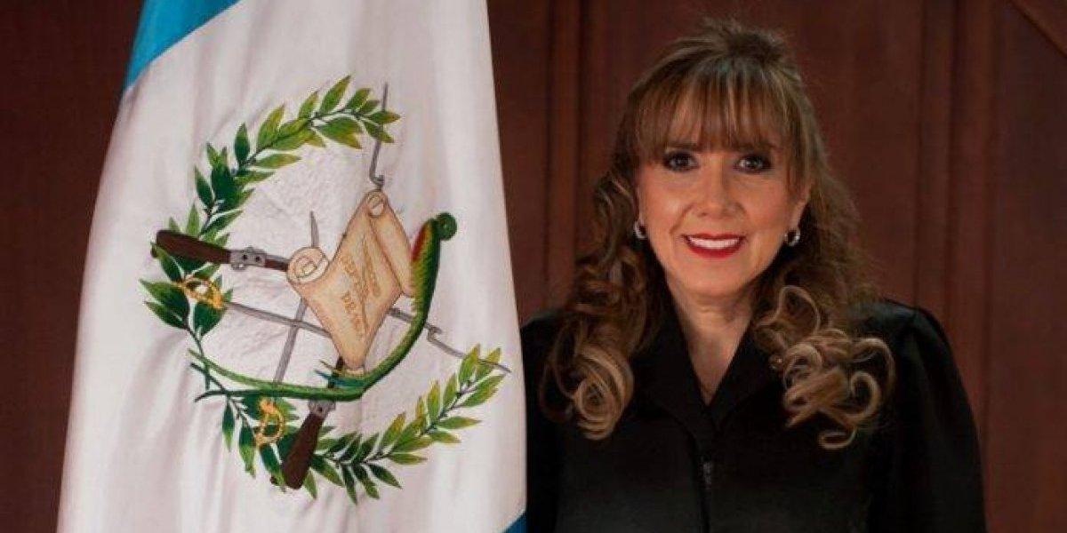 Magistrada Dina Ochoa toma posesión como presidenta de la CC