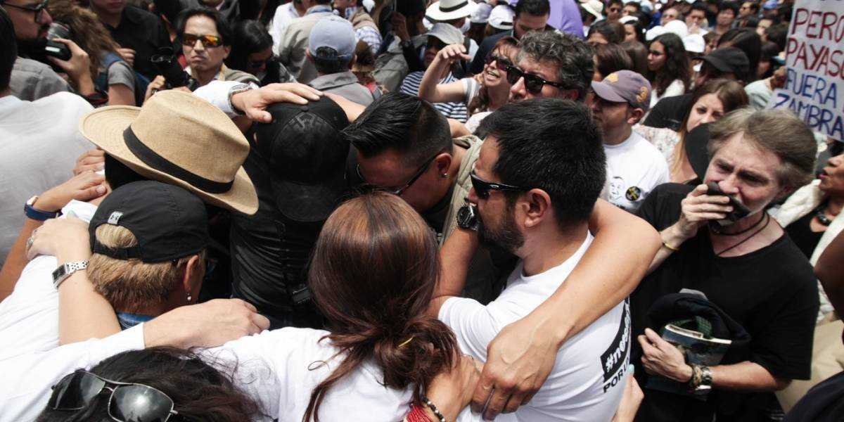 Las Farc se pronuncia sobre la muerte de los tres periodistas del Diario El Comercio