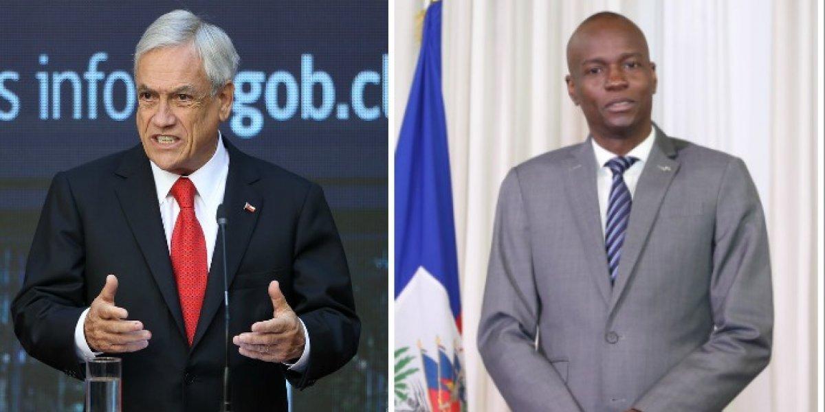 Piñera y Presidente de Haití se reúnen a horas del inicio de la exigencia de visas