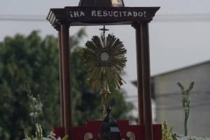 Procesión Eucarística, celebrando la Pascua