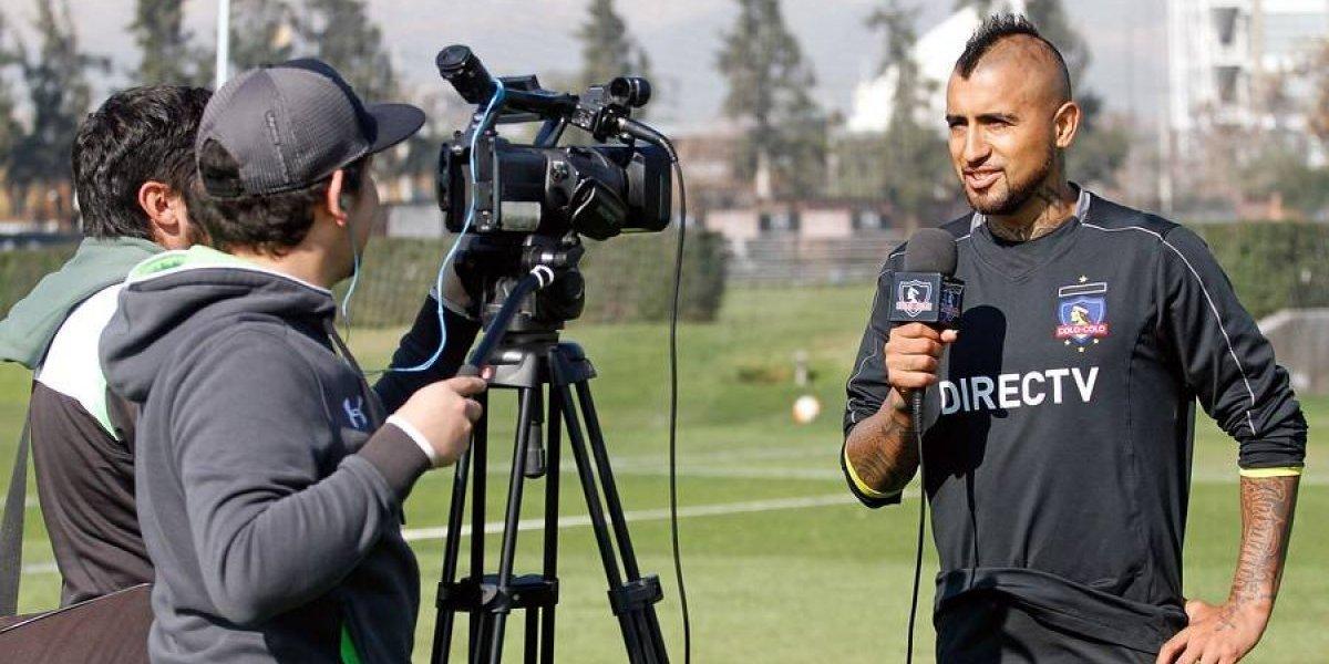 Con la camiseta puesta: la gran arenga de Vidal a Colo Colo para el Superclásico