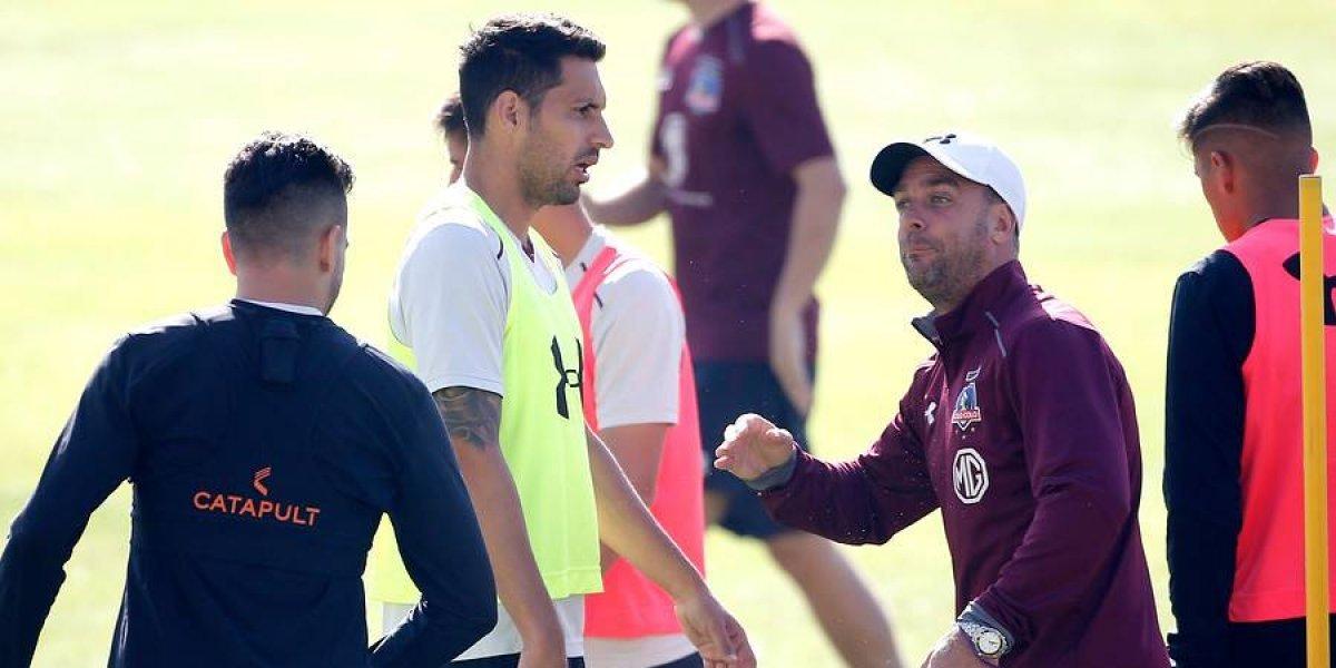 Con línea de cuatro: Pablo Guede sorprende con la formación titular de Colo Colo para el Superclásico