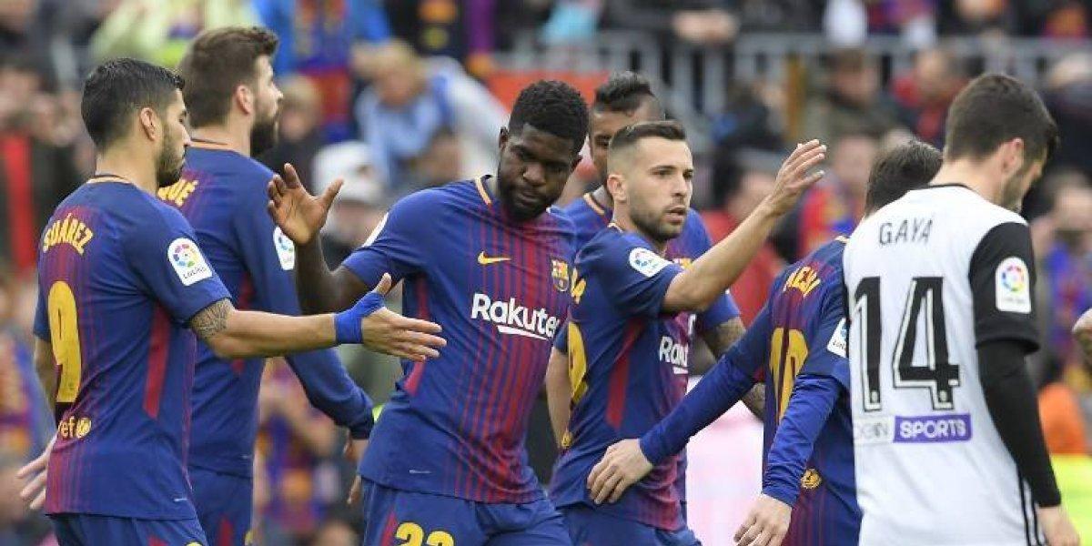 El Barcelona celebra y está cerca de conseguir lo inimaginable en la Liga española