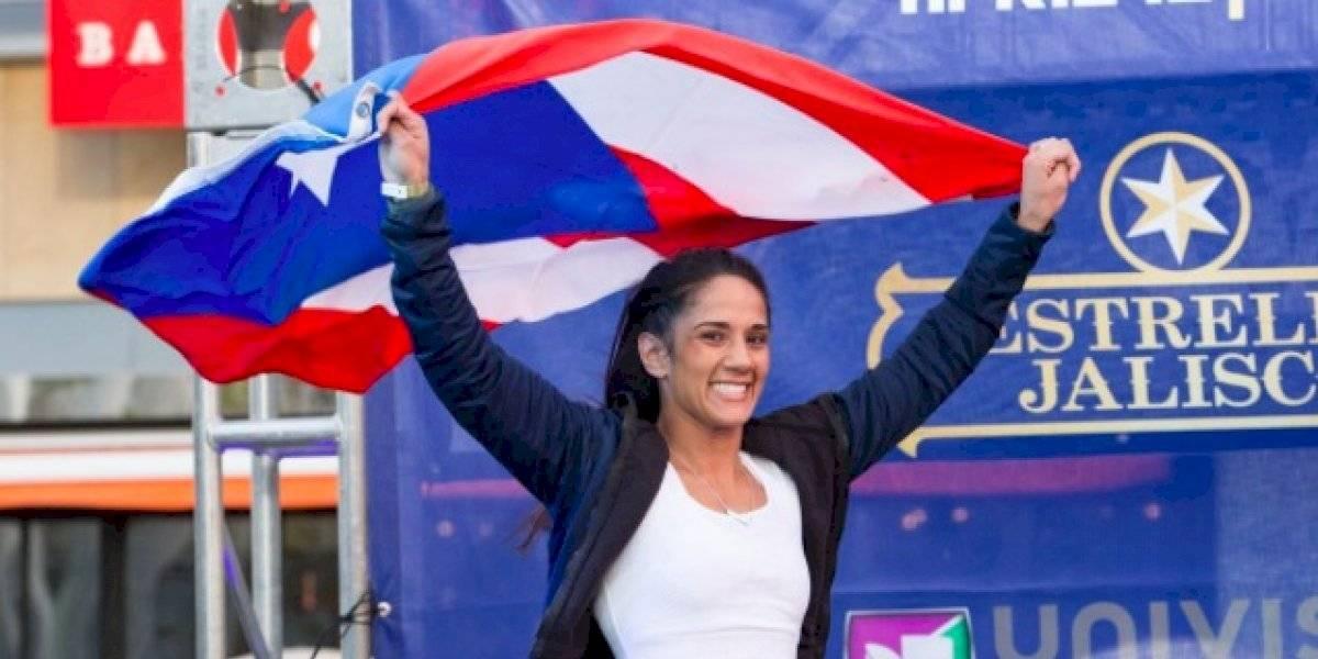 Amanda Serrano llega a México para importante pelea