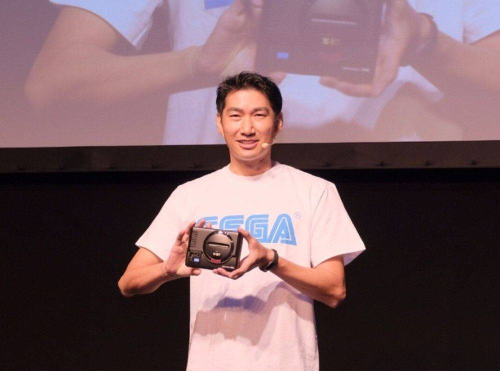 SEGA presenta una versión mini de su consola retro Mega Drive