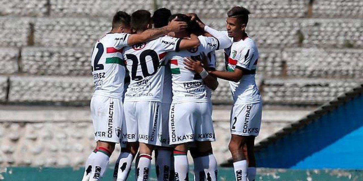 Palestino sale de su mala racha y sigue hundiendo al Everton de Vitamina Sánchez