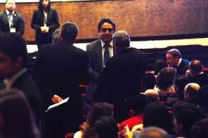 acto de toma de posesión de presidenta de CC Dina Ochoa