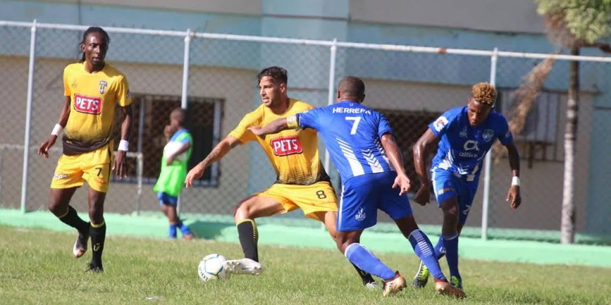 Atlántico FC y Moca FC empatan a uno en LDF